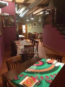 desigual fotos restaurante 4 225x300 El Hotel Rural Restaurante La Façana se viste de Desigual   Disfrutadla con estas fotos
