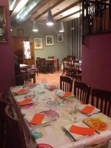 desigual fotos restaurante 5 225x300 El Hotel Rural Restaurante La Façana se viste de Desigual   Disfrutadla con estas fotos