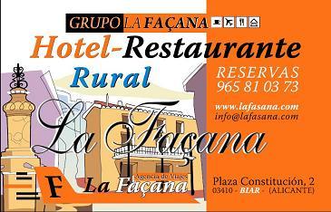 image001 Día 11 de abril del 2014   Cata y maridaje en el restaurante La Façana en Biar